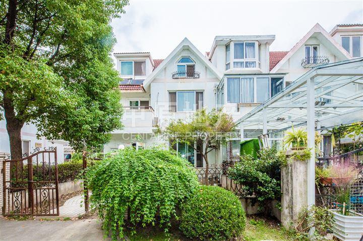 雅閣花園精裝雙拼別墅大花園200平米近辛莊,上海松江